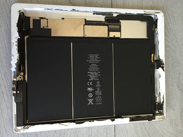 4 - ipad apre¦Çs LCD enleve¦ü