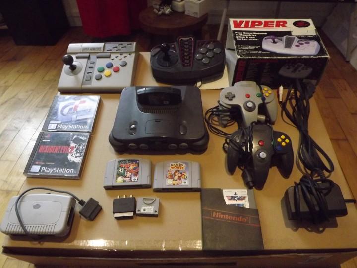 ancienne consoles et jeux vidéos master phone lorient 56100 morbihan