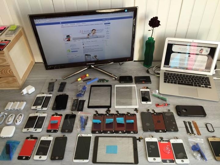 Master phone vente pièces détachées